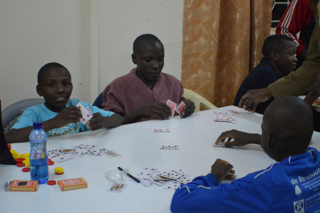 Cards are mostly used by persons for recreational purposes. In this case, each student has his own pack of cards. They will be spending their evenings playing different card games such as Contract Whist and Game 91. It is through such games that these students can be able develop critical thinking skills during the playing processes.
